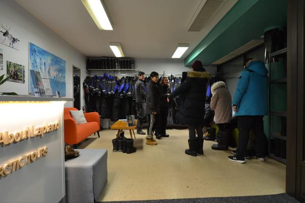 Agences excursions équipement froid Rovaniemi