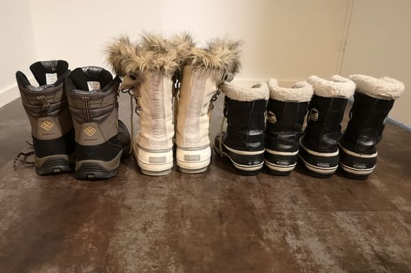 Bottes grand froid Laponie