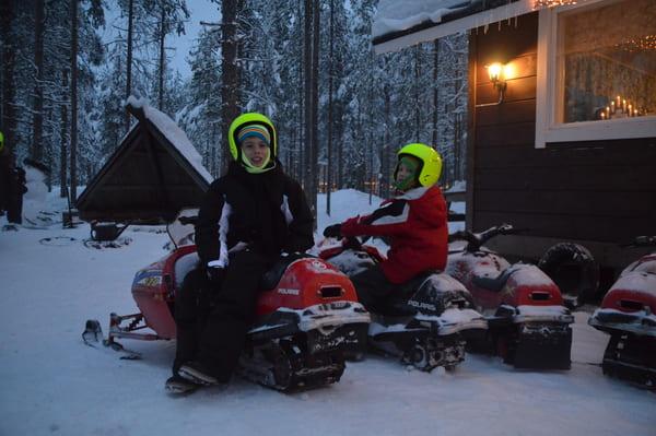 Motoneige pour enfants Laponie