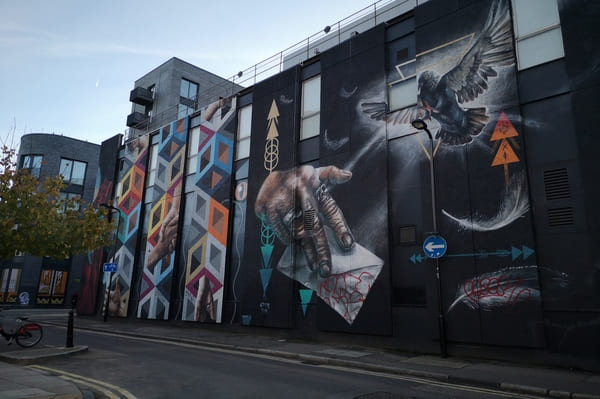 Les meilleures fresques de Street Art à Londres