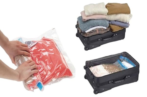 Sac sous vide pour valise cabine