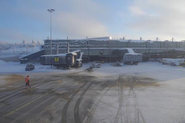 Aéroport de Rovaniemi en Laponie
