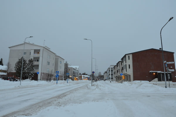 routes enneigées Rovaniemi
