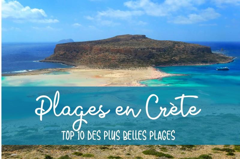 Où se situent les plus belles plages en Crète