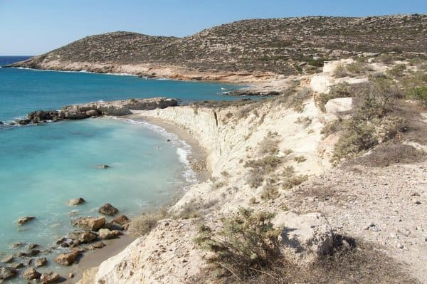 Plages de Xerokampos en Crète