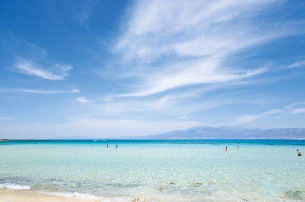 Les meilleurs plages en Crète, Chrissi
