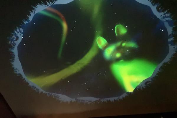Légendes pour aurores boréales Laponie