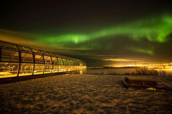 Observation aurores à Arktikum rovaniemi