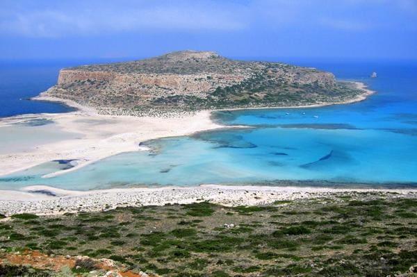 Plus belle plage en Crète, balos