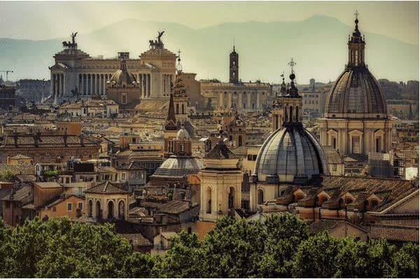 Appartement avec belle vue Rome