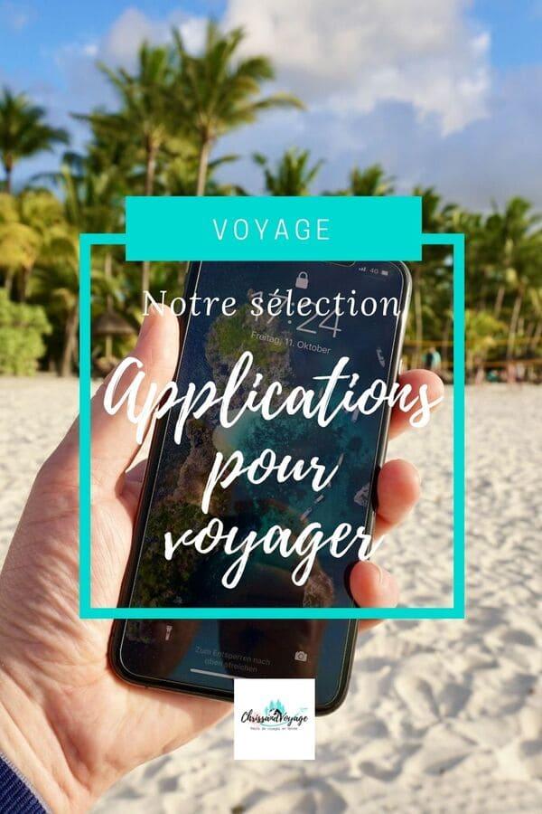 Applications smartphones pour le voyage