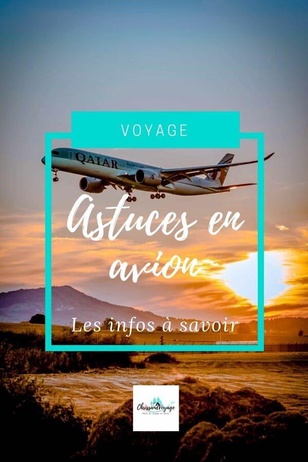 Les astuces pour voyager en avion