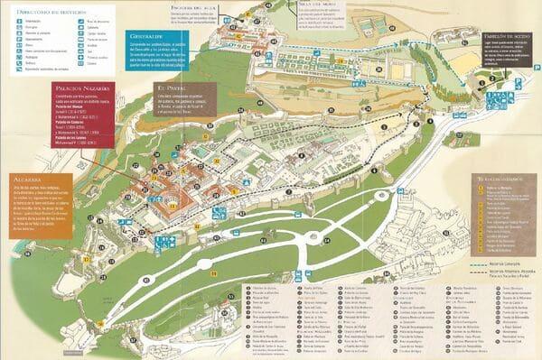 Plan du site Alhambra