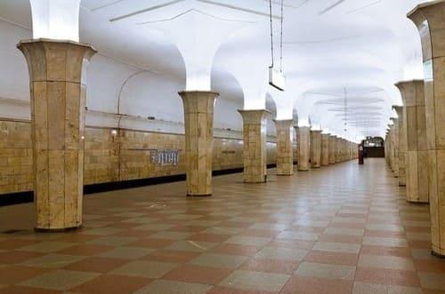 Kropotkinskaya métro