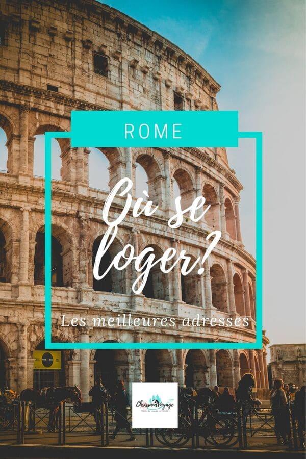 Où se loger à Rome pour visiter ?