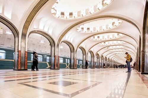 Mayakovskaya métro