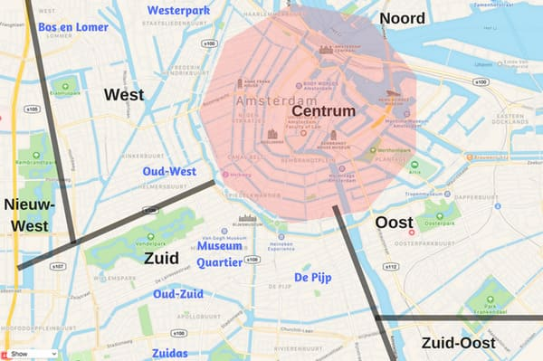 Quartiers d'Amsterdam