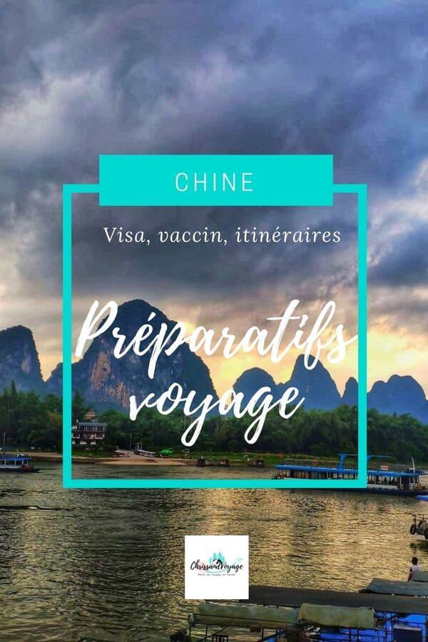 Que prévoir pour voyager en Chine