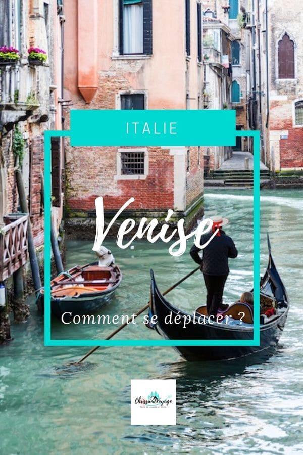 Comment se déplacer à Venise
