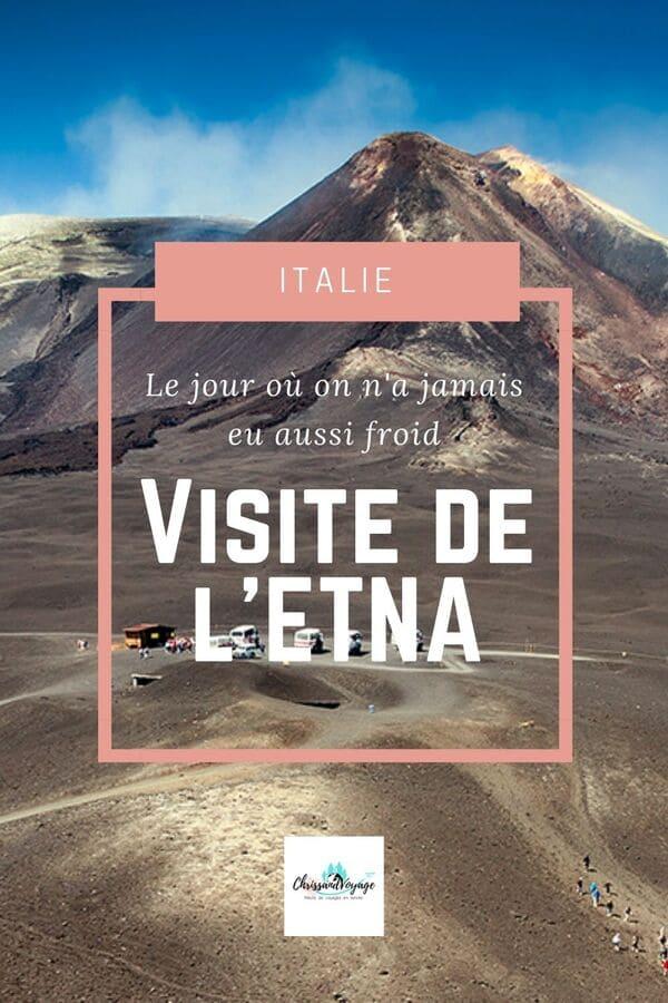 Visite de l'Etna