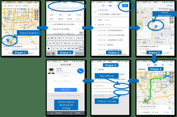 Baidu map explication