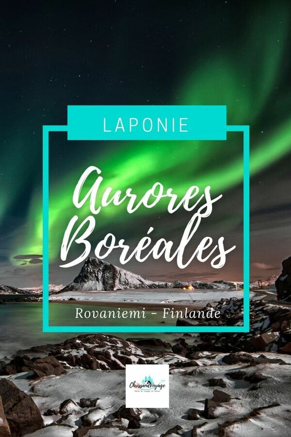 Où voir des aurores boréales en Laponie ?