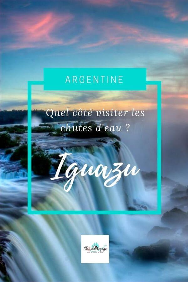 Visite des chutes d'Iguazu en Amérique du sud