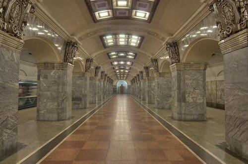 station de métro à voir Saint Pétersbourg