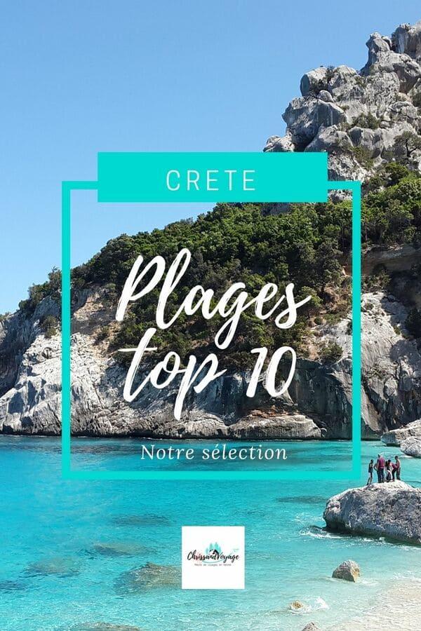 Plus belles plages de Crète