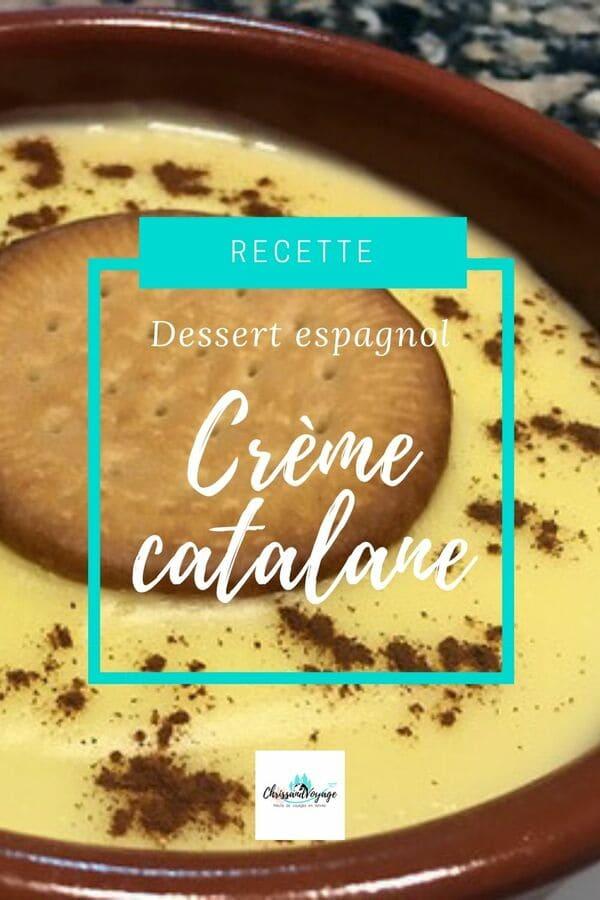 Recette crème catalane