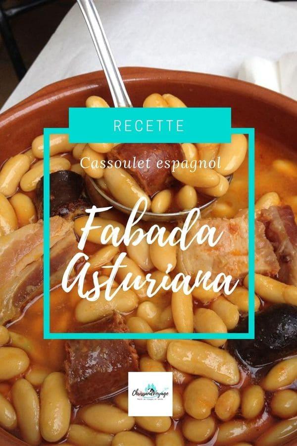 Recette de la fabada espagnole