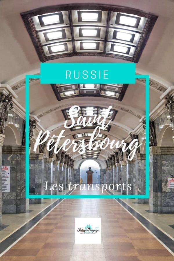 Prendre le métro à Saint Pétersbourg