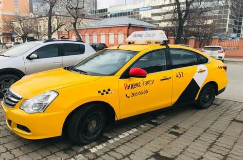 Taxi en Russie