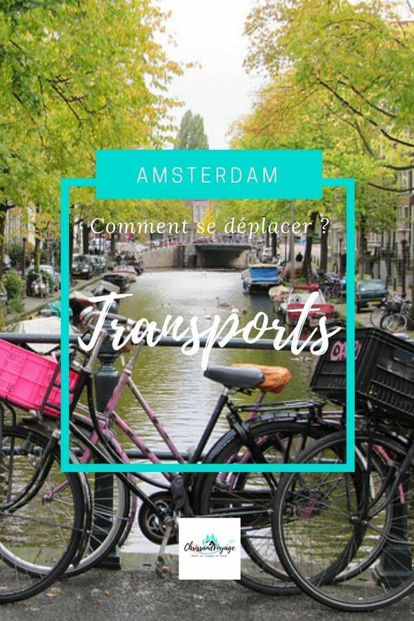 Comment se déplacer à Amsterdam