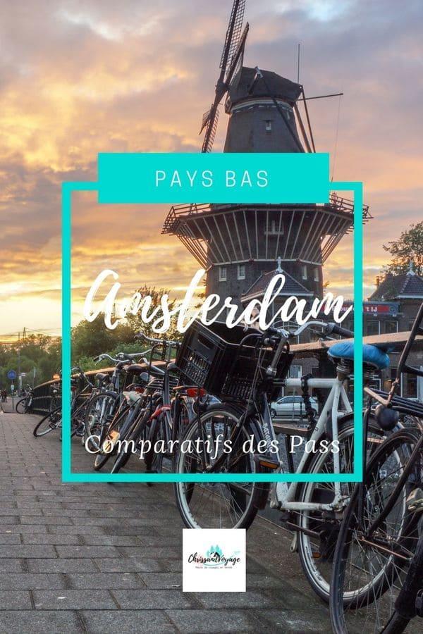 Quel Pass visite choisir pour Amsterdam ?