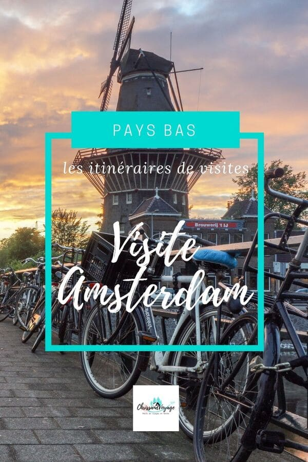 itinéraire visite amsterdam