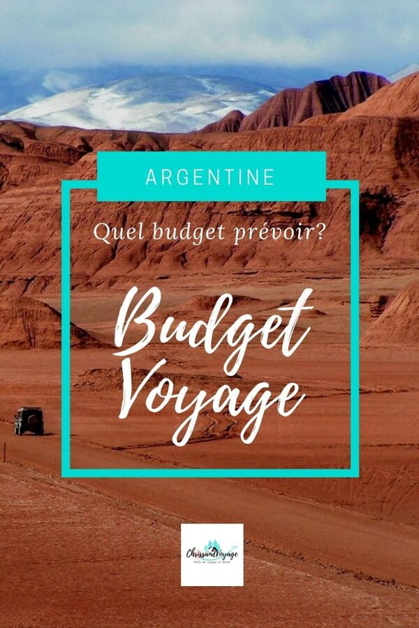 budget voyage pour l'Argentine