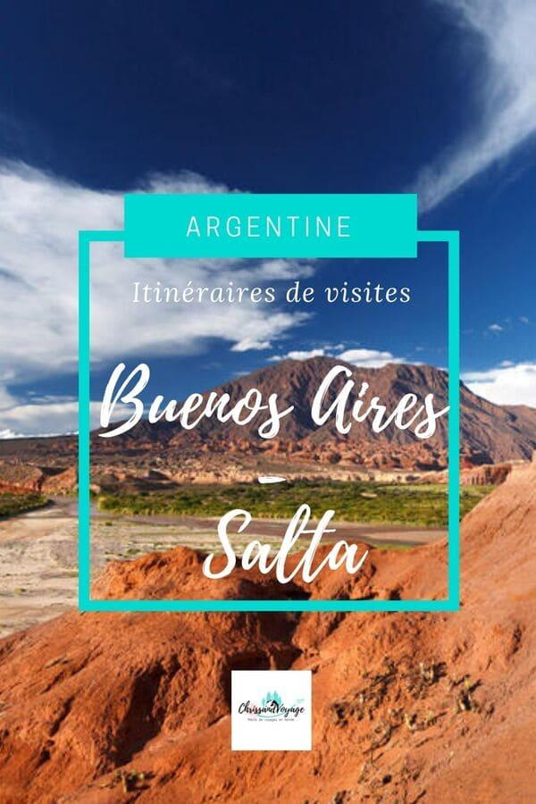 itinéraires en Argentine
