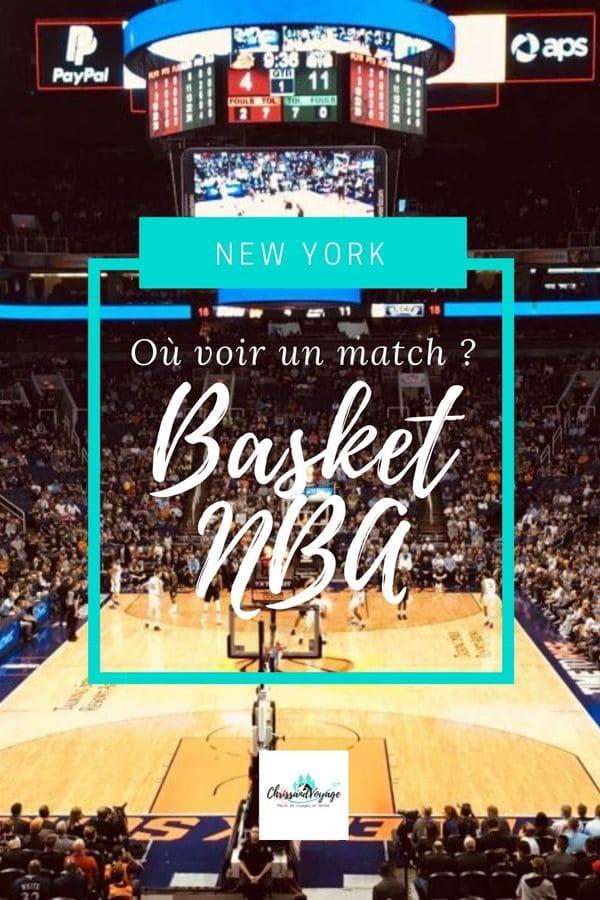 Voir un match de basket NBA à New York