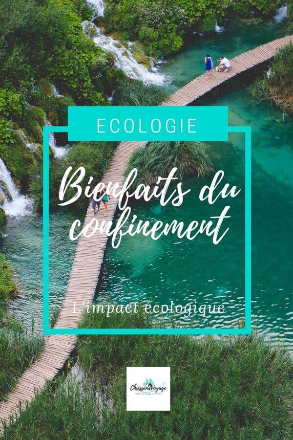 Impact du confinement sur l'écologie