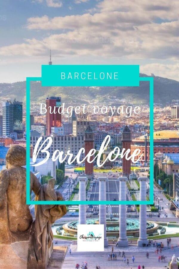budget voyage à Barcelone