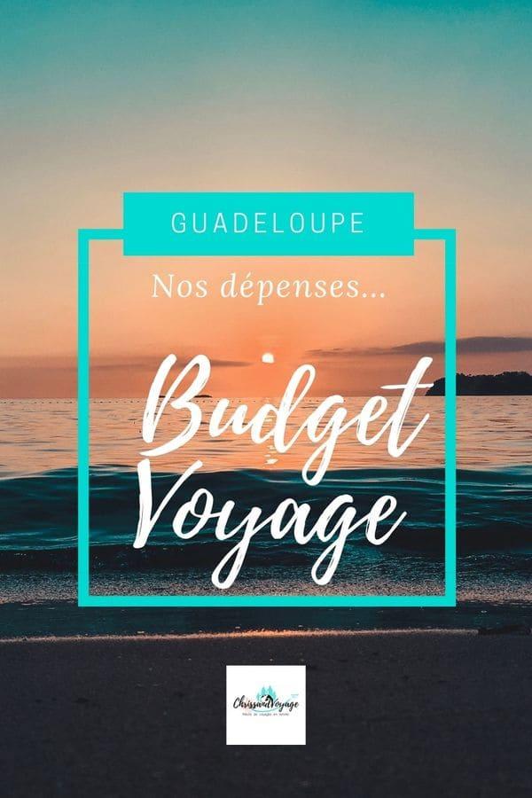 Quel budget pour voyage Guadeloupe