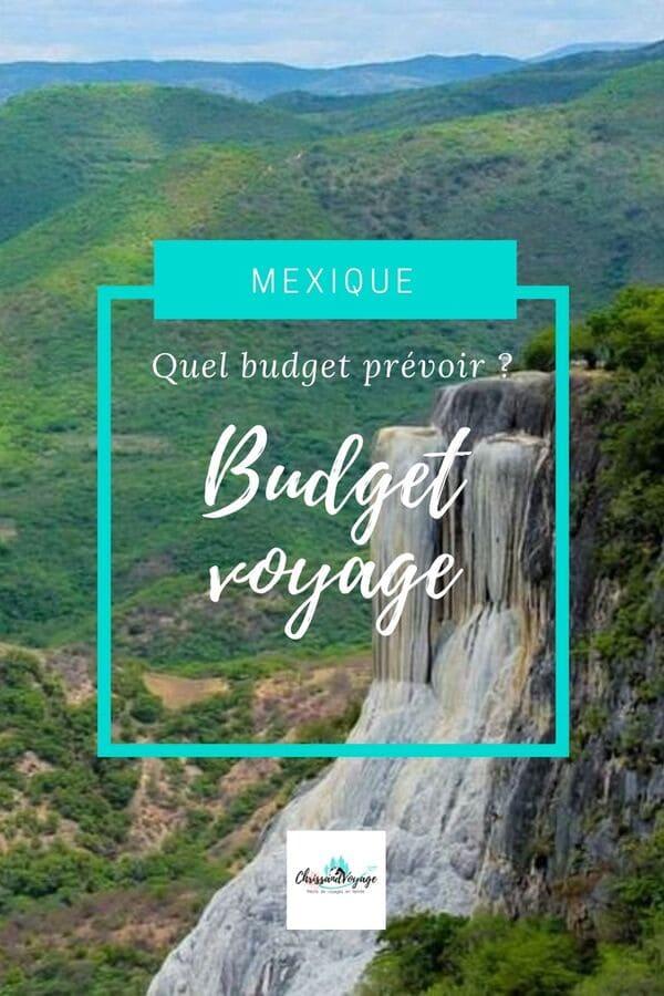 budget voyage au Mexique