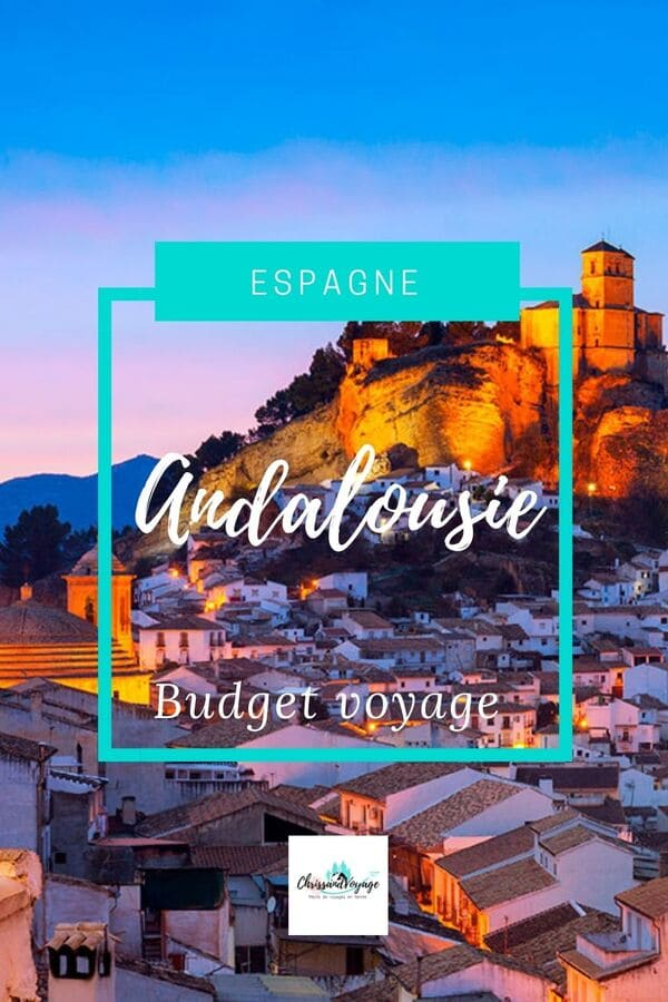 budget dépenses Andalousie voyage