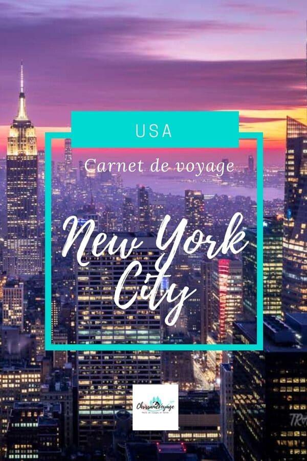 Carnet de voyage New York en une semaine
