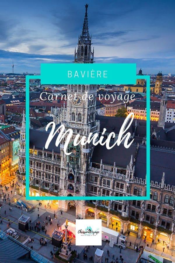Carnet de voyage de 4 jours à Munich