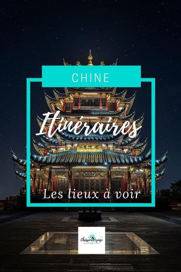 Itinéraire voyage en Chine