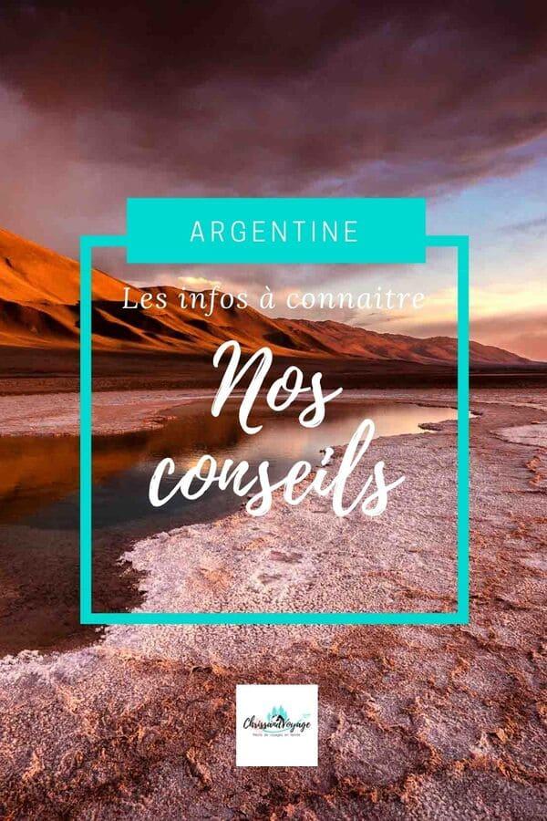 Conseils pour voyager en Argentine du nord