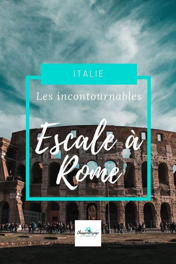 visite rome escale