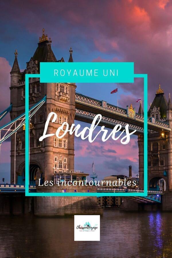 Itinéraires de visites à Londres